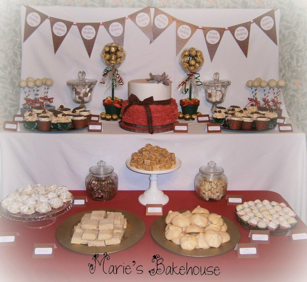 60th Scottish themed birthday