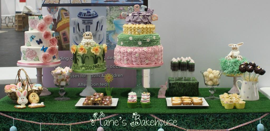 Easter desset table