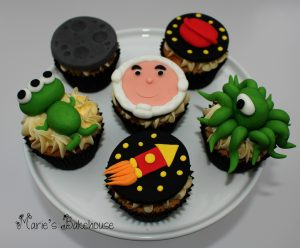children's cupcake space