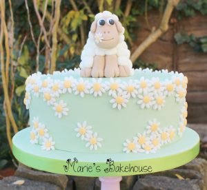 Marie's Bakehouse Lamb Easter cake named