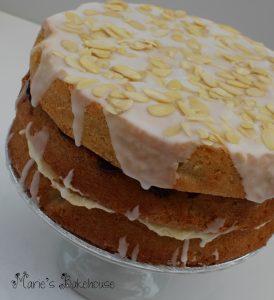 Cherry Bakewell cake Marie's Bakehouse