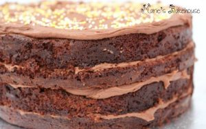 chocolate orange mud cake Marie's Bakheouse