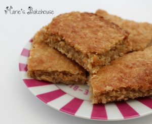oaty coconut bars recipe