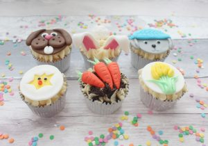 Easter childrn's cupcake decorating class