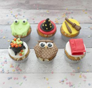 children's cupcake decorating parties wizard theme