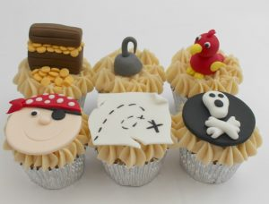 children's cupcake decorating parties pirates