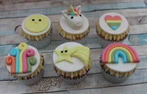 children's cupcake decorating parties unicorn