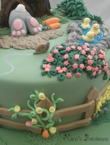 Sugarpaste leaves