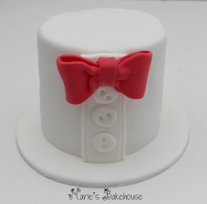 bow tie cake Marie's Bakehouse