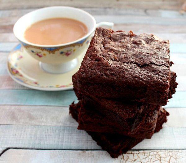 postal brownie treat