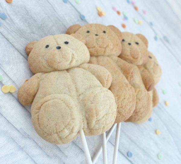 teddy bear cookie lolly