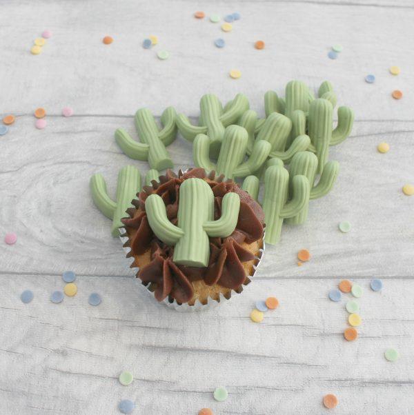 cacti cupcake decorations