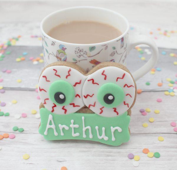 personalised halloween cookies