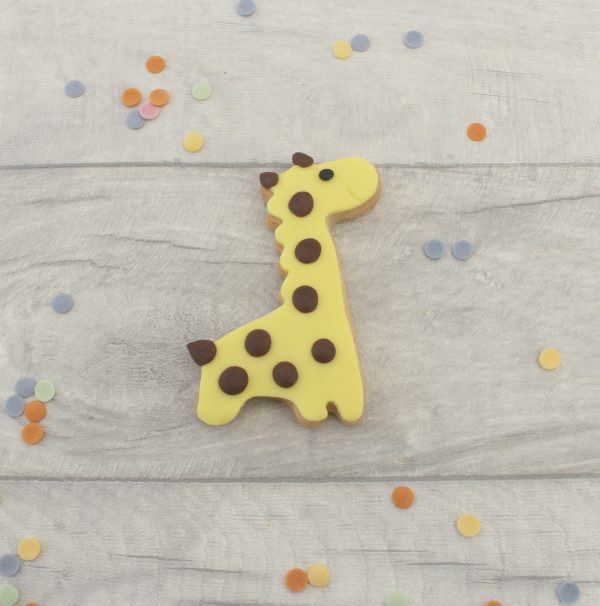 giraffe cookie party favours