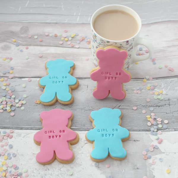 gender reveal cookie ideas