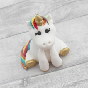 bright unicorn cake model