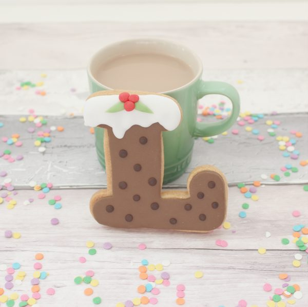 christmas pudding stocking filler cookies