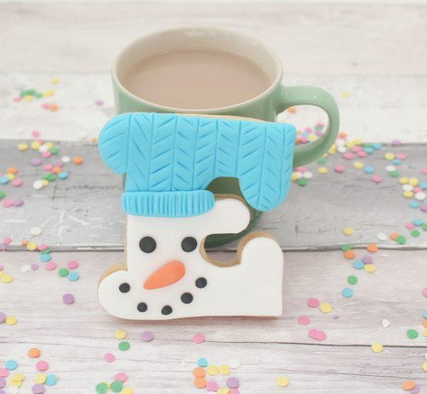 christmas snowman stocking filler cookies