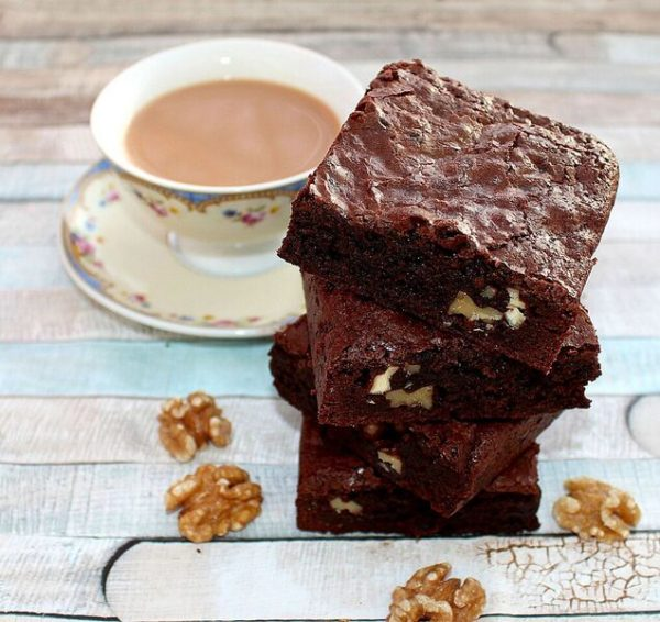 walnut brownies thinking of you treat