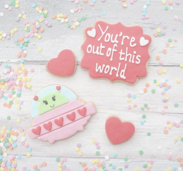 valentine's cookie gift