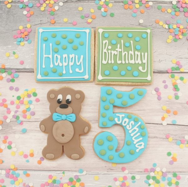 birthday bear set