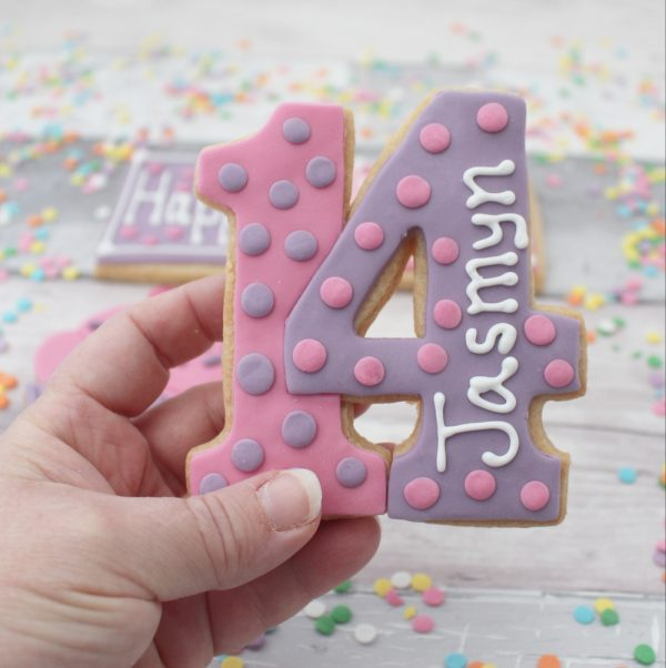 name age birthday cookie