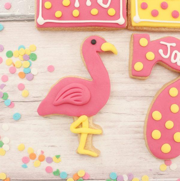 flamingo biscuit