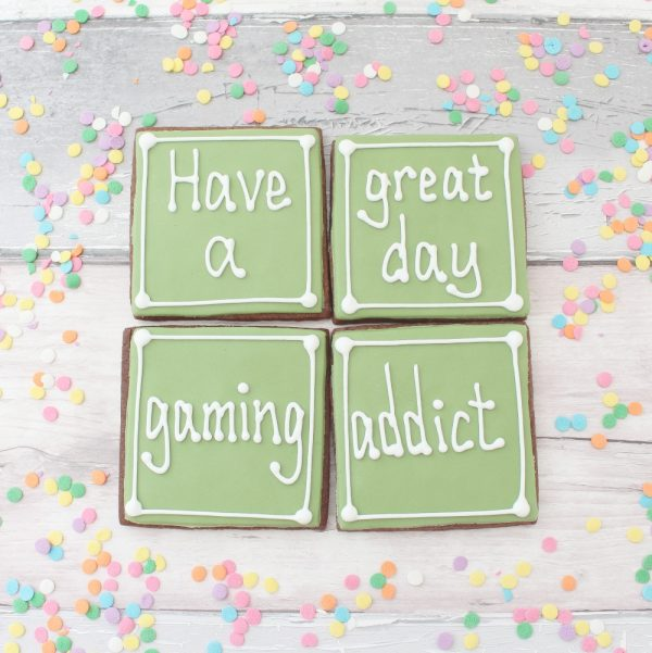 birthday cookies for gamer