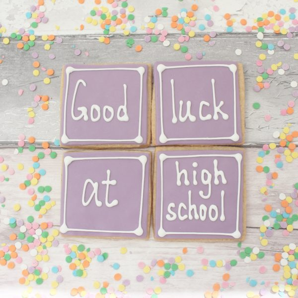 good luck at high school