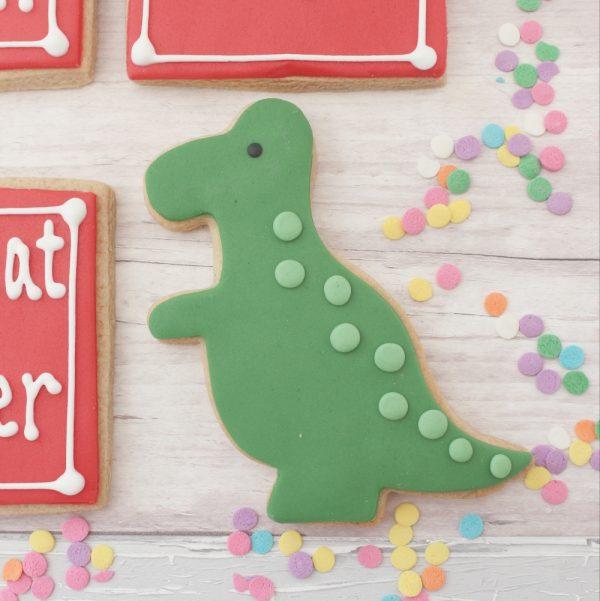 dinosaur cookie