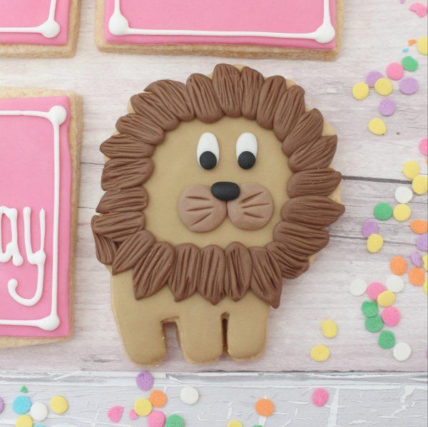 lion cookie