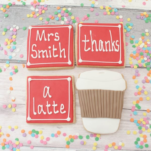 personalised teacher biscuits
