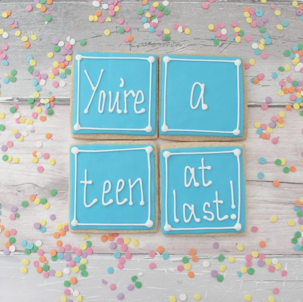 new teenager cookie gift