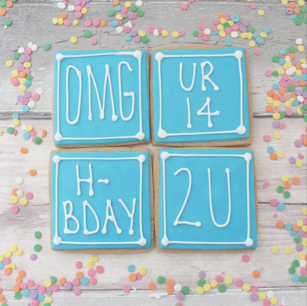 teen text birthday gift