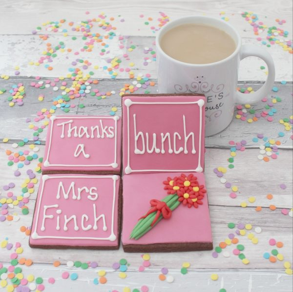 end of term personalised teacher present