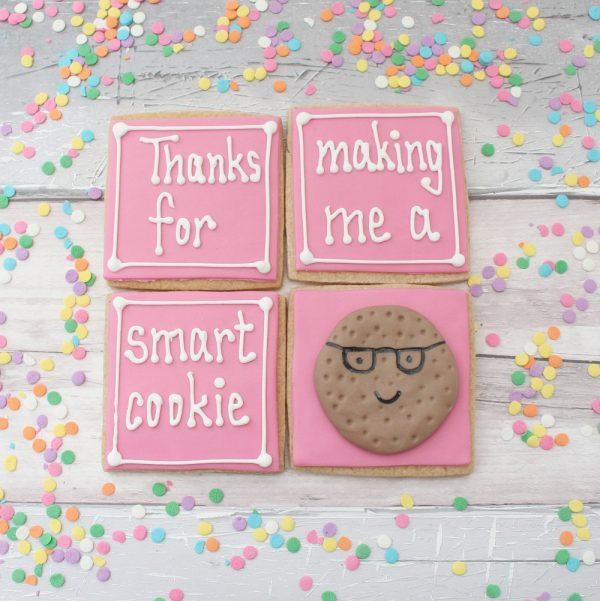 teacher thank you cookie gift