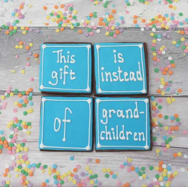 cheeky fathers day cookie gift