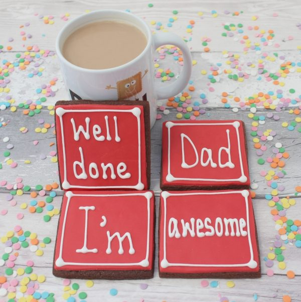 cookie gift for dad