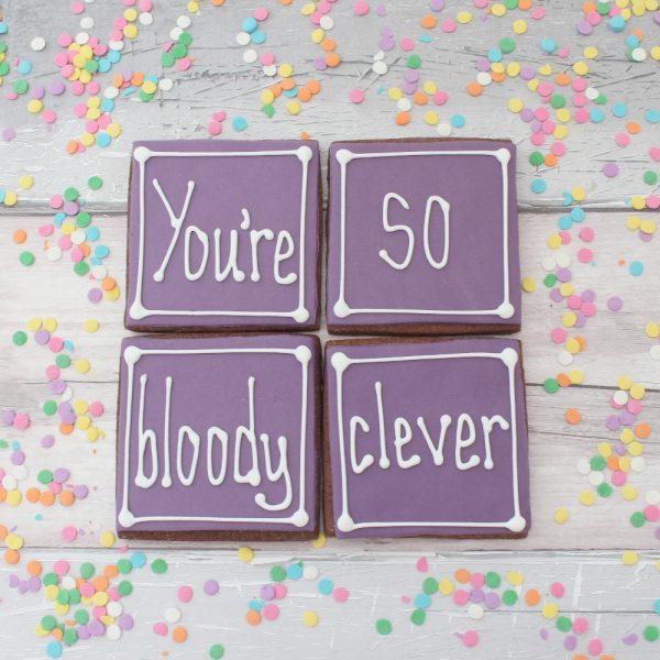 congratulations cookie gift set